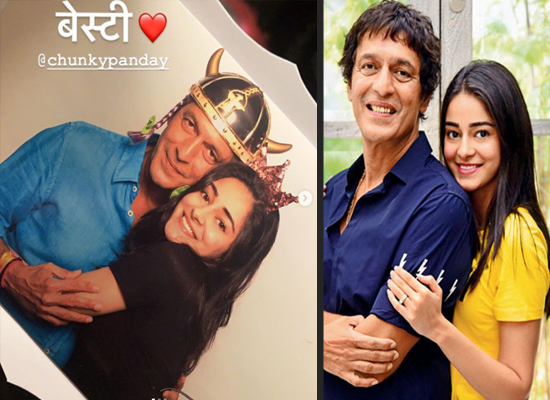 Chunky Panday's valuable advice to Ananya Panday on dealing with trolls!