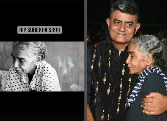 Ayushmann and Gajraj Rao pay heartfelt tribute to their costar Surekha Sikri!