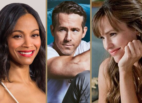 Zoe Saldana, Jennifer Garner and Ryan Reynolds team up for The Adam Project!