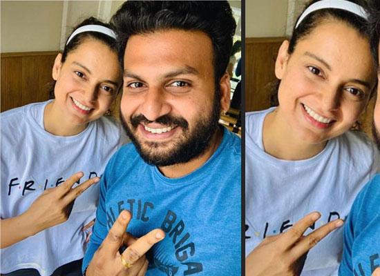 Kangana Ranaut to resume dance rehearsals with choreographer for Thalaivi!