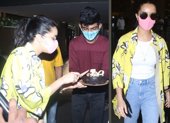 Birthday star Shraddha Kapoor to cut birthday cake with paparazzi!