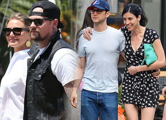 Cameron Diaz engaged to Benji Madden and Joseph Gordon-Levitt married to Tasha McCauley!