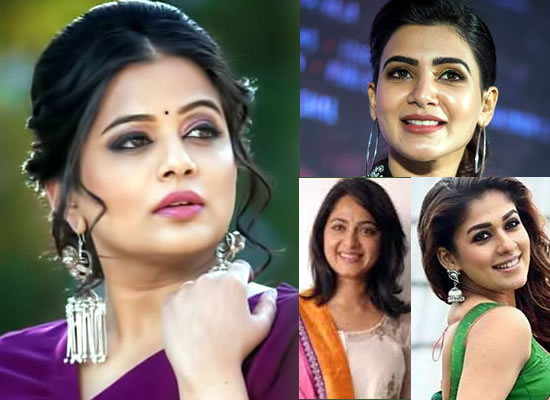 Priyamani talks about Anushka, Nayanthara and Samantha's remuneration!