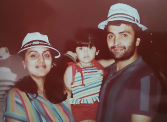 RIDDHIMA'S PRICELESS MOMENTS WITH LATE RISHI KAPOOR!