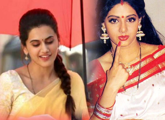 Taapsee Pannu opens up on being compared to Sridevi!