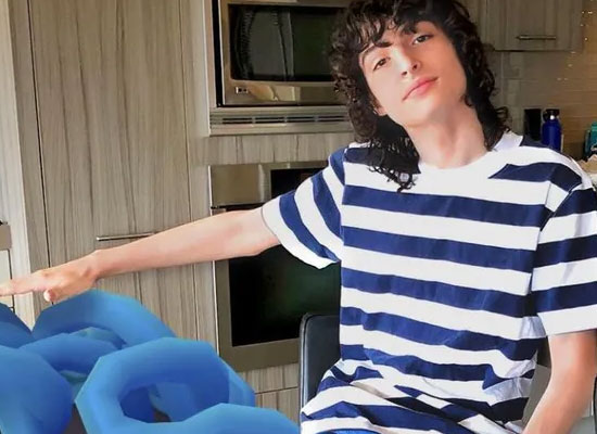 Hollywood star Finn Wolfhard talks about his eating habits!