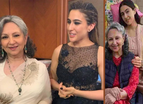 Sara Ali Khan opens up on seeing Grandmother Sharmila Tagore in films!