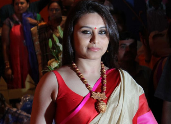 I want to continue being an actor, says Rani Mukerji!