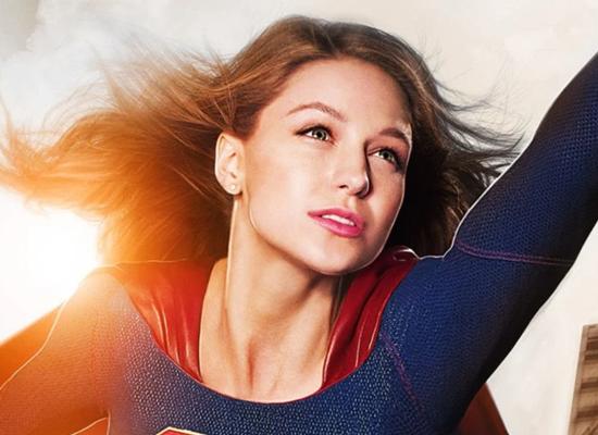 Melissa Benoist wraps up the filming Supergirl!
