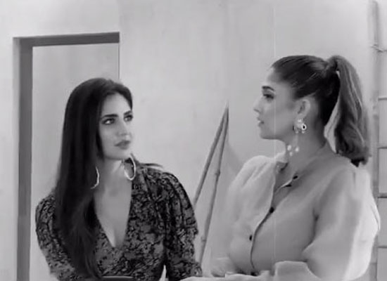 Katrina Kaif opens up on working with Nayanthara for the first time!