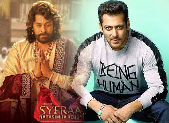 South star Chiranjeevi to unite with Salman for Sye Raa promotions?