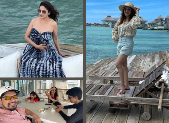 Madhuri Dixit to share pics from her holiday in the Maldives with family!