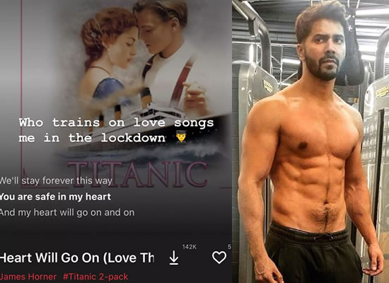 Varun Dhawan to share his workout playlist amid lockdown!