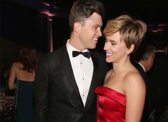 Scarlett Johansson marries Colin Jost in an intimate ceremony!