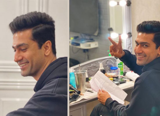 Vicky Kaushal's 'Shubh Aarambh' on the sets!
