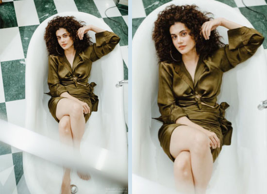 Taapsee Pannu looks stylish in a bathtub pic!