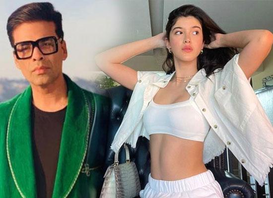 Karan Johar and Shashank Khaitan to launch Shanaya Kapoor in a rom com!