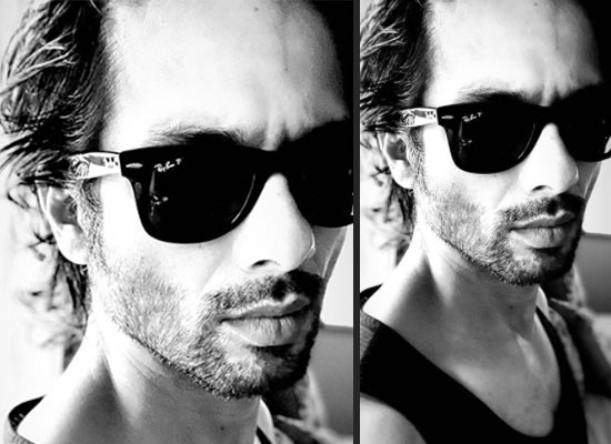 Shahid Kapoor's loveable monochrome avatar!