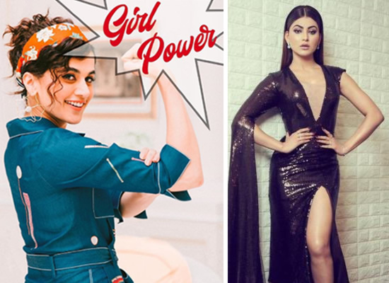 Taapsee Pannu's advice to Urvashi Rautela for a new stylist!