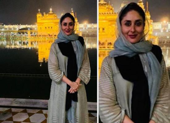 Kareena visits the Golden Temple ahead of Laal Singh Chaddha's shoot!