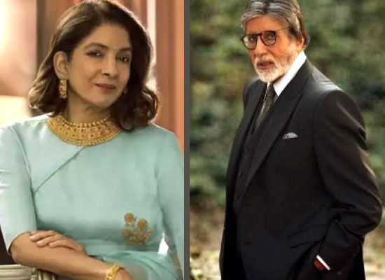 Neena Gupta opens up on sharing screen space first time with Big B in Goodbye!