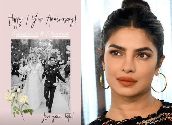 Priyanka Chopra's sweetest wedding anniversary wish for Sophie Turner and Joe Jonas!