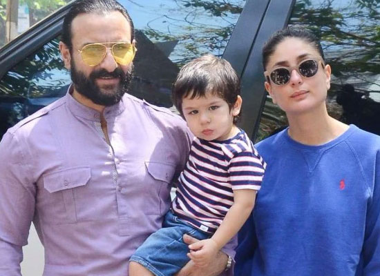 Kareena, Saif and Taimur extend support to PM CARES and CM's Relief Fund!