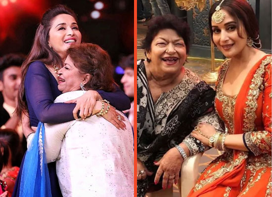 Madhuri Dixit's emotional tribute to late Saroj Khan on Guru Purnima!