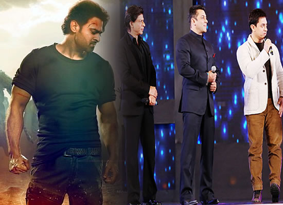 Saaho star Prabhas reacts on comparison with the Khans!
