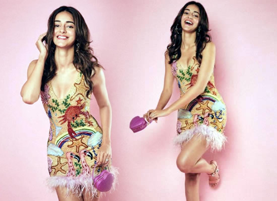 Ananya Panday's dreamy and chic avatar!