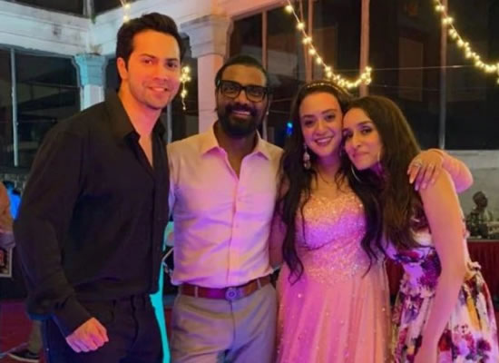 Varun Dhawan's lovely birthday wish for Remo D'Souza's wife Lizelle!
