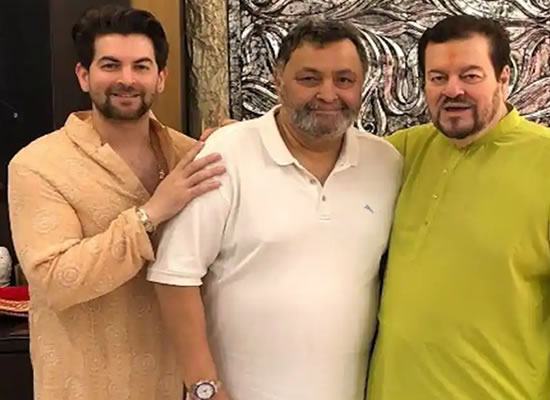 Rishi Kapoor was like a father figure, says Neil Nitin Mukesh!