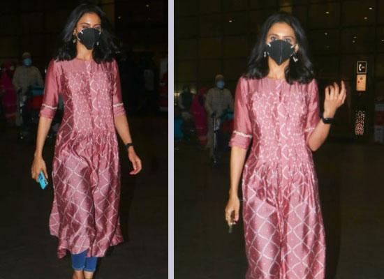 Rakul Preet Singh looks stylish in her Indo western OOTD!