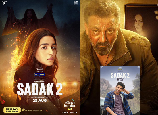 Alia Bhatt to share Sadak 2 new posters with release date!