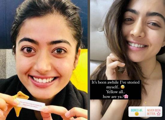 Rashmika Mandanna's no makeup avatar with her infectious smile!