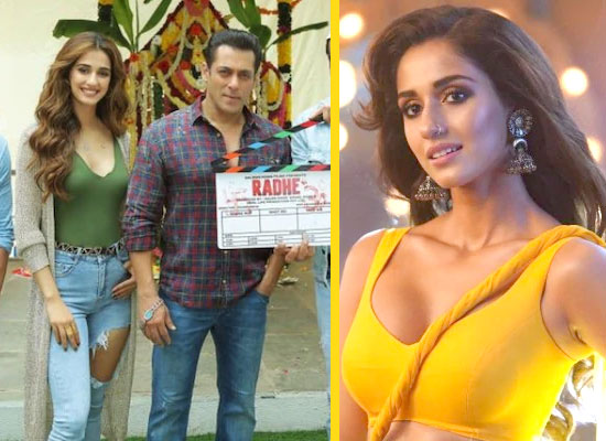 Disha Patani talks about her experience of working with Salman in Radhe!