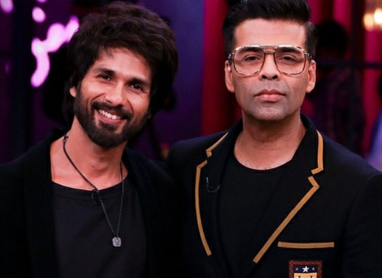 Shahid Kapoor and Karan Johar come together again for Shashank Khaitan's next!