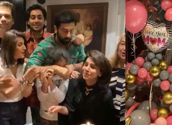 Neetu Kapoor to celebrate her birthday with the family and friends!