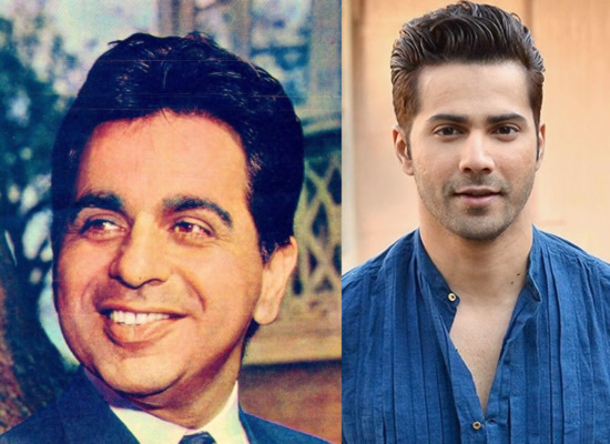 Varun Dhawan's lovely birthday message for legendary veteran Dilip Kumar!