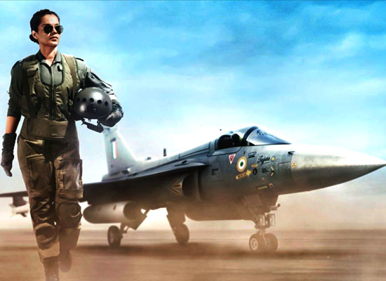 Kangana Ranaut gets admiration for her role as IAF pilot in Tejas!