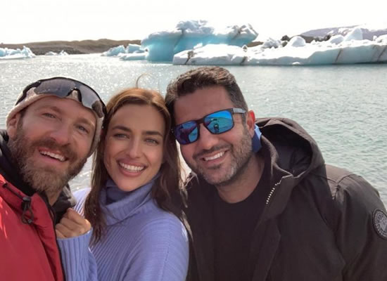 Irina Shayk's first appearance in Iceland after split with Bradley Cooper!