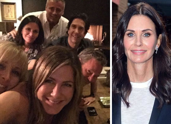 Courteney Cox talks about working with her costars again in Friends Reunion!