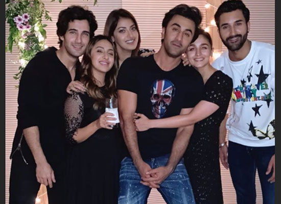 Alia and Ranbir's romantic moments at a friend's birthday party!