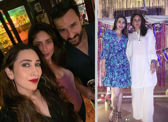 Karisma Kapoor talks about her college days with sister Kareena!