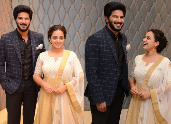 Nithya Menen opens up about her best friend Dulquer Salmaan!