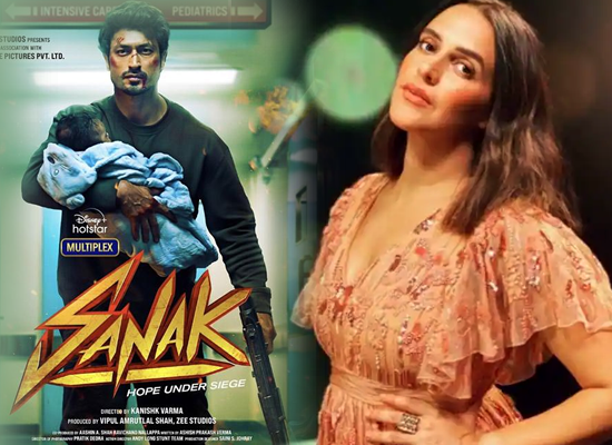 Neha Dhupia to reveal the release date of her film 'Sanak' with Vidyut Jammwal!
