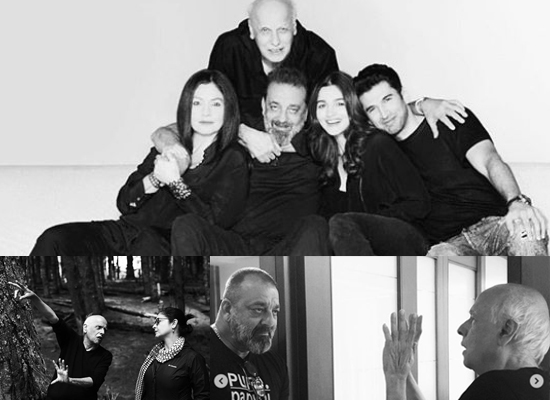Mahesh Bhatt writes a note to Pooja Bhatt about their next Sadak 2!