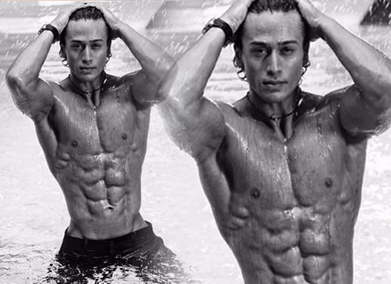 Tiger Shroff to share a throwback pic of his washboard abs from a shoot!