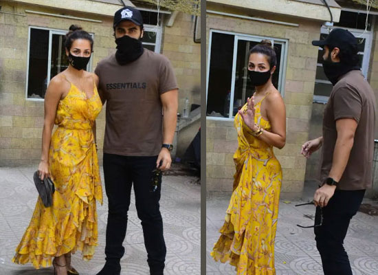 Arjun Kapoor and Malaika Arora's stylish look for the Easter lunch!