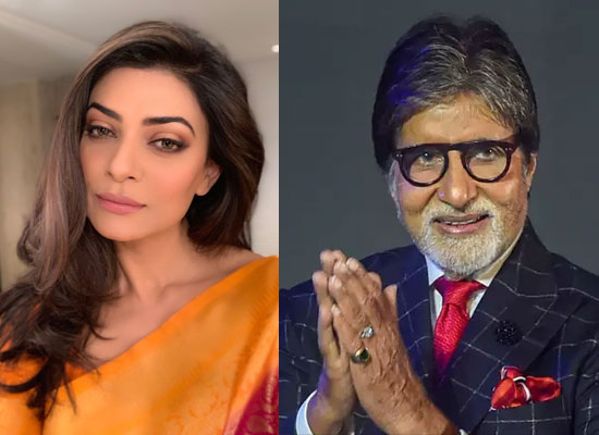 Sushmita Sen describes Big B in one word!
